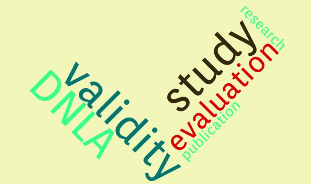 """The empirical study on DNLA """"Evaluation of the DNLA SC analysis considering the quality criteria of psychometric measurements"""", by Prof. Dr. René Lehmann is now available."""