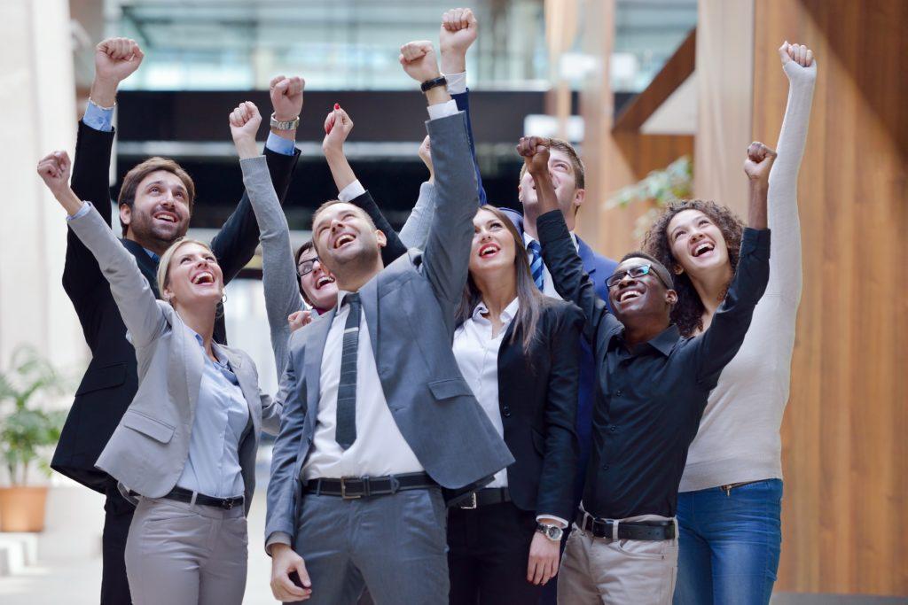 Ein gutes Team, begeistert und erfolgreich - so soll es optimalerweise für die Mitarbeiterinnen und Mitarbeiter und für die Unternehmen sein!