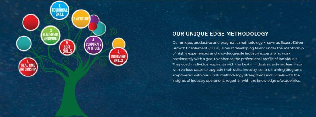 taledge´s unique edge-methodology: Expert-Driven-Growth-Enablement (EDGE).
